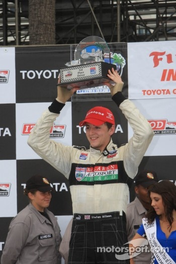 Race winner Conor Daly