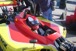 Richard Philippe the Mi-Jack Conquest Racing Champ Car