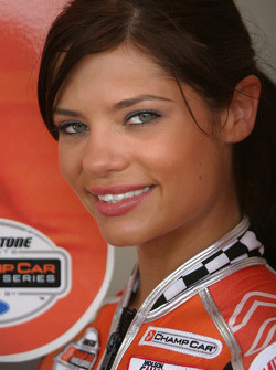 A lovely Molson Indy girl
