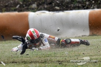 Trouble for Marco Simoncelli