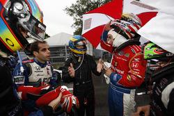 Vitor Meira, A.J. Foyt Enterprises, Sébastien Bourdais, Dale Coyne Racing, Graham Rahal