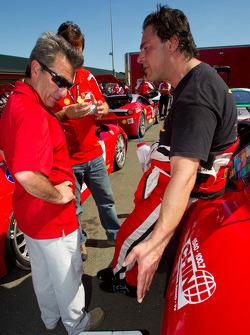 Richard Spénard and #64 Algar Ferrari Ferrari F430 Challenge: Frank Fusillo