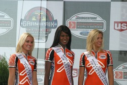 Miss Grand Prix of Cleveland and her court