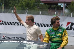 Charles Zwolsman and Will Power