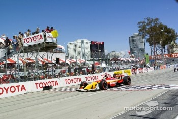 Sbastien Bourdais on a pace lap