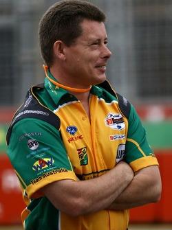 A Team Australia team member