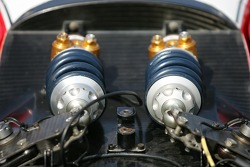 Detail of a front suspension