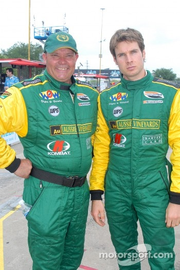 Keith Beck and Will Power
