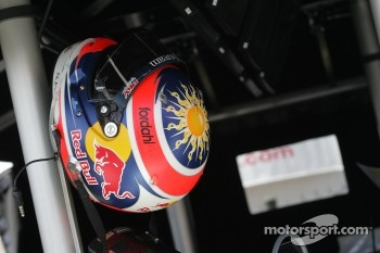 Helmet of Neel Jani