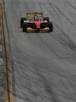 Pace lap: Sébastien Bourdais