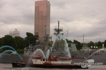 Portland Fireboat Boat display