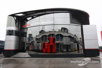 The Motorhome of McLaren Mercedes