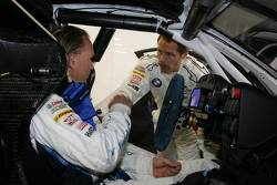 Uwe Alzen and Andy Priaulx