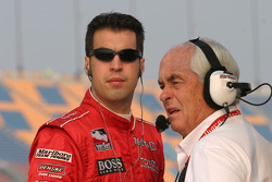 Sam Hornish Jr. and Roger Penske