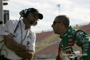 Kim Green and Tony Kanaan