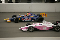 Patrick Carpentier and Scott Dixon