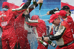 Champagne for Dan Wheldon
