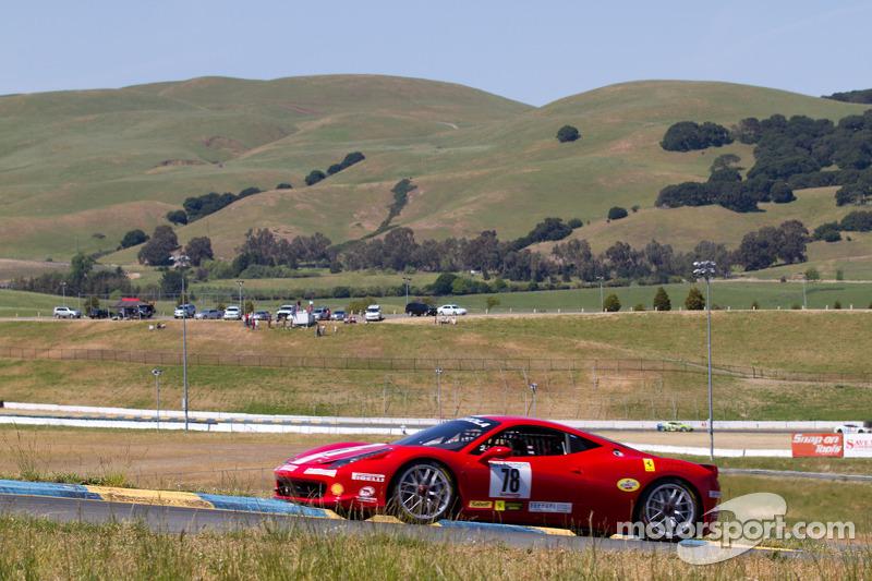 #78 Ferrari of San Diego Ferrari 458 Challenge: Al Hegyi