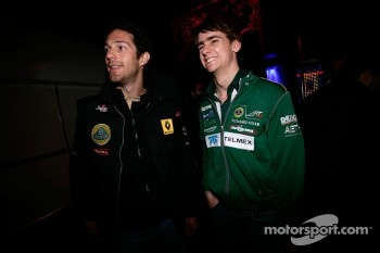 GP2 launch party, Billionaire Istanbul: Bruno Senna