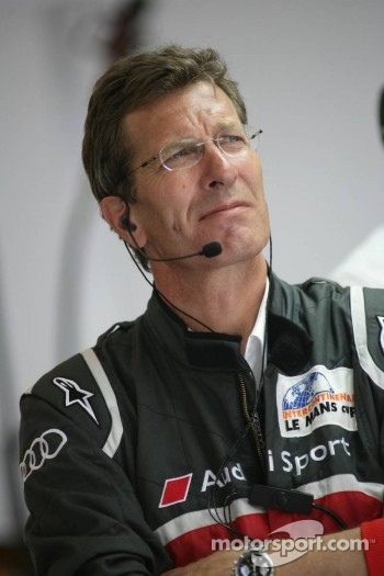 Ralf Juttner Technical Director Audi Joest Racing