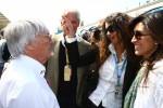 Bernie Ecclestone with Afef Jnifen, Pirelli's President)