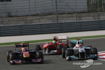 Plenty of overtaking, Alguersuari, Schumacher and Massa