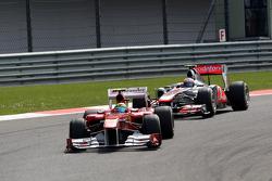 Felipe Massa, Scuderia Ferrari, F150, Jenson Button, McLaren Mercedes, MP4-26