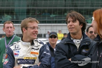 Sébastien Bourdais and Bruno Junqueira