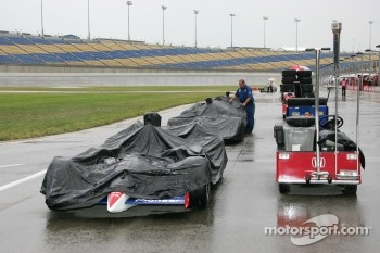 Qualifying session rained out