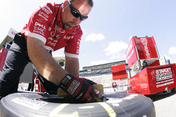 Ganassi Racing crew member at work