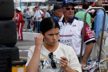 Danica Patrick puts on her game face