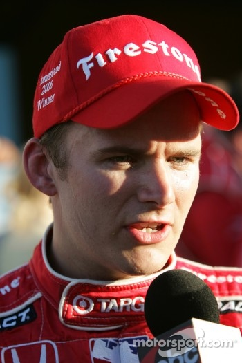 Victory lane: interviews for Dan Wheldon