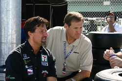 Michael Andretti and Rusty Wallace