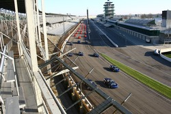 Chevrolet vehicles on the famed Indianapolis Motor Speedway oval