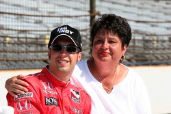 Sam Hornish and his mother