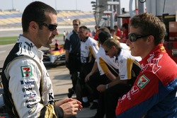 Dario Franchitti and Marco Andretti