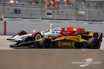 Bryan Herta and Sam Hornish Jr.