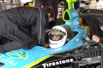 Seat fitting for Jeff Simmons