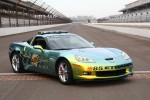 1989 and 1993 Indianapolis 500 winner Emerson Fittipaldi will drive the E85 concept Chevrolet Corvette Pace Car on the pace lap of the 92nd Indianapolis 500 on Sunday, May 25, 2008