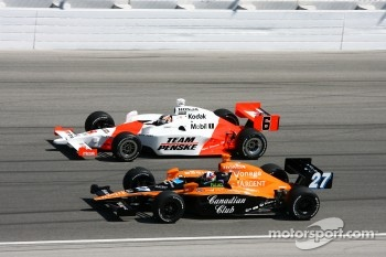 Sam Hornish Jr. and Dario Franchitti