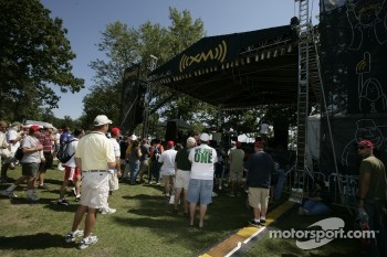 XM Satellite Radio stage