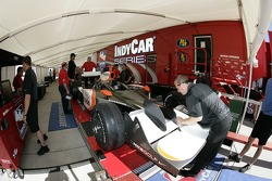 Vision Racing car at technical inspection