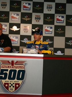 Press conference: John Andretti