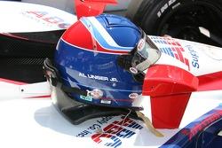 Helmet of Al Unser Jr.
