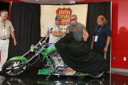 The Teutul family from Orange County Choppers offer a Corn inspired bike