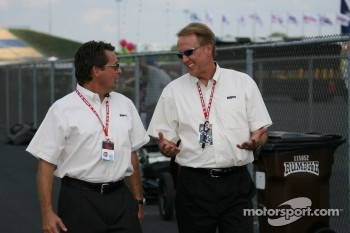 Scott Goodyear and Marty Reid