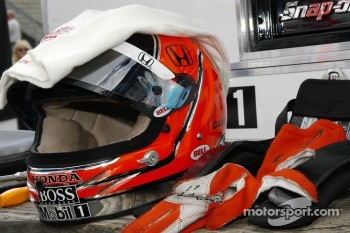 Helmet of Helio Castroneves