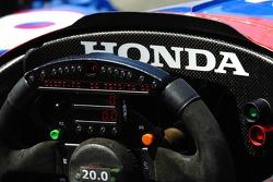 Steering wheel of Kosuke Matsuura