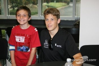 Firestone Corporate Employee Function: Marco Andretti