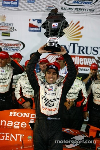 Winners circle: Dario Franchitti